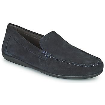 Čevlji  Moški Mokasini Geox U ASCANIO A Modra