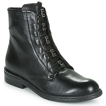Čevlji  Ženske Polškornji Mjus PALLY Črna