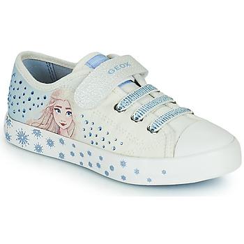 Čevlji  Deklice Nizke superge Geox JR CIAK GIRL Bela / Modra