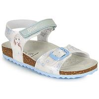 Čevlji  Deklice Sandali & Odprti čevlji Geox ADRIEL GIRL Bela / Modra