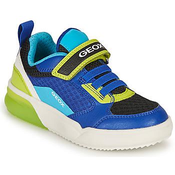 Čevlji  Dečki Nizke superge Geox GRAYJAY BOY Modra