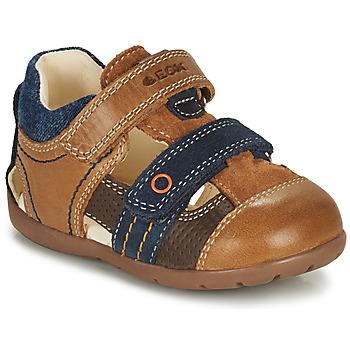 Čevlji  Dečki Sandali & Odprti čevlji Geox KAYTAN Kostanjeva