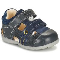Čevlji  Dečki Sandali & Odprti čevlji Geox KAYTAN Modra