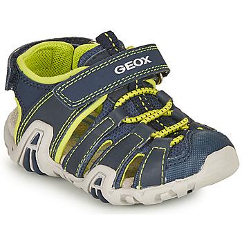 Čevlji  Dečki Športni sandali Geox SANDAL KRAZE Modra