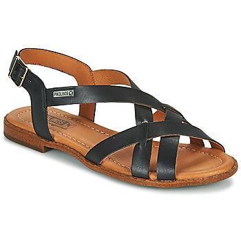 Čevlji  Ženske Sandali & Odprti čevlji Pikolinos ALGAR W0X Črna