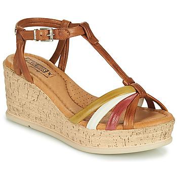 Čevlji  Ženske Sandali & Odprti čevlji Pikolinos MIRANDA W2F Kostanjeva