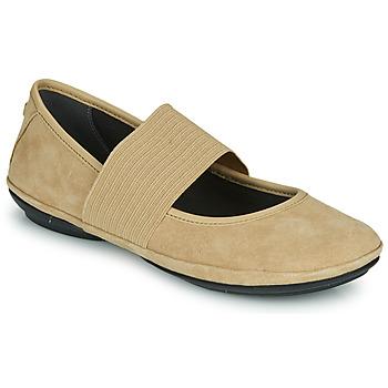 Čevlji  Ženske Balerinke Camper RIGHT NINA Bež