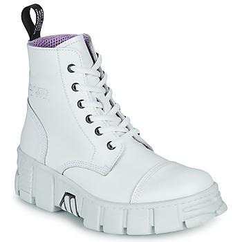 Čevlji  Polškornji New Rock M-WALL005-C1 Bela