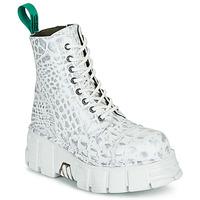 Čevlji  Polškornji New Rock M-MILI083C-V9 Bela