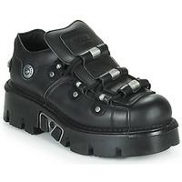 Čevlji  Čevlji Derby New Rock M-233-C3 Črna