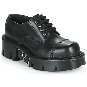 Čevlji  Čevlji Derby New Rock M-NEWMILI03-C3 Črna