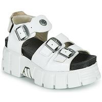 Čevlji  Ženske Sandali & Odprti čevlji New Rock M-BIOS101-C3 Bela