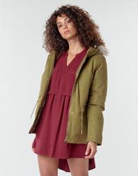 Oblačila Ženske Plašči Deeluxe LINA Kaki