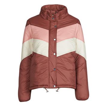 Oblačila Ženske Puhovke Deeluxe CLAUDINE Rdeča / Rožnata