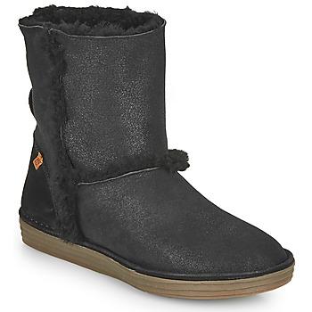Čevlji  Ženske Mestni škornji    El Naturalista LUX Črna