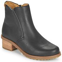 Čevlji  Ženske Gležnjarji El Naturalista SOFT Črna