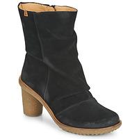 Čevlji  Ženske Gležnjarji El Naturalista LUX Črna