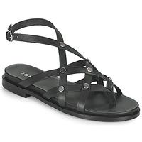 Čevlji  Ženske Sandali & Odprti čevlji Jonak WHITNEY Črna