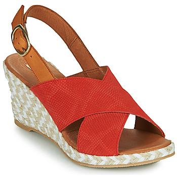 Čevlji  Ženske Sandali & Odprti čevlji Pare Gabia NAMEE Oranžna