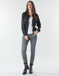 Oblačila Ženske Jeans skinny G-Star Raw 3301 Low Skinny Wmn Tmavá / Vintage / Cobler