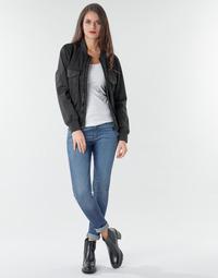 Oblačila Ženske Jeans skinny G-Star Raw 3301 Ultra High Super Skinny Wmn Tmavá / Vintage
