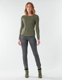 Oblačila Ženske Jeans skinny G-Star Raw 5620 Custom Mid Skinny wmn Tmavá / Vintage / Cobler
