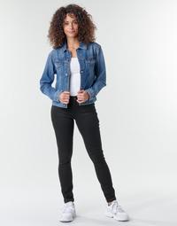 Oblačila Ženske Jeans skinny G-Star Raw Midge Zip Mid Skinny Wmn Pitch / Črna