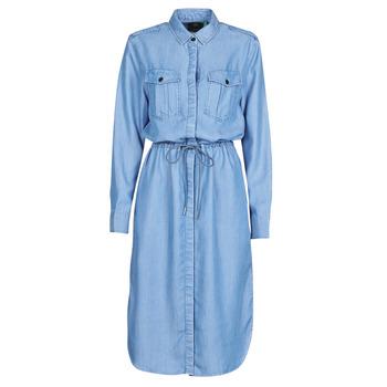 Oblačila Ženske Dolge obleke G-Star Raw Rovic maxi shirt dress ls Vintage