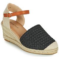 Čevlji  Ženske Sandali & Odprti čevlji Moony Mood OCUTE Črna