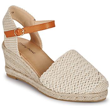 Čevlji  Ženske Sandali & Odprti čevlji Moony Mood OCUTE Bež