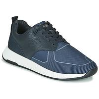 Čevlji  Moški Nizke superge BOSS Titanium_Runn_tbjq 10232903 Modra