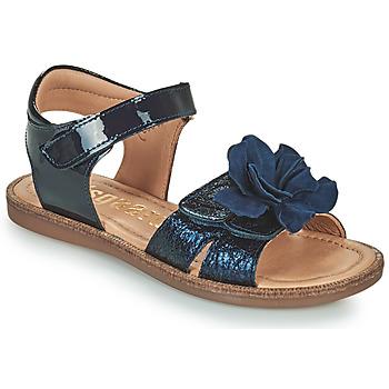 Čevlji  Deklice Sandali & Odprti čevlji Bisgaard AGNES Modra
