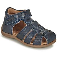 Čevlji  Otroci Sandali & Odprti čevlji Bisgaard CARLY Modra