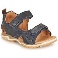 Čevlji  Dečki Športni sandali Bisgaard CASPAR Modra