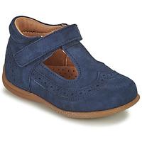 Čevlji  Deklice Balerinke Bisgaard RAE Modra