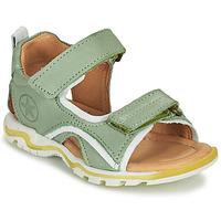 Čevlji  Otroci Športni sandali Bisgaard ARTHUR Zelena