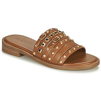 Čevlji  Ženske Sandali & Odprti čevlji Bronx THRILL Kostanjeva / Pozlačena