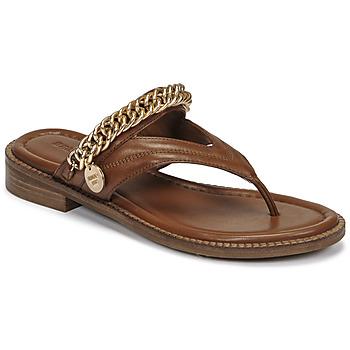 Čevlji  Ženske Sandali & Odprti čevlji Bronx NEW THRILL Kostanjeva / Pozlačena