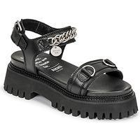 Čevlji  Ženske Sandali & Odprti čevlji Bronx GROOVY SANDAL Črna