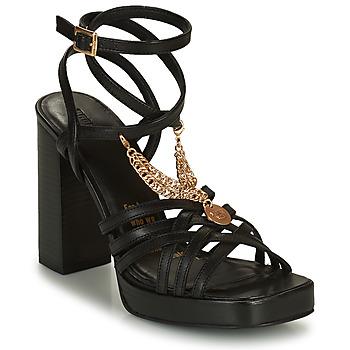 Čevlji  Ženske Sandali & Odprti čevlji Bronx NEW RENEE Črna