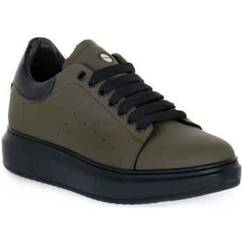 Čevlji  Moški Nizke superge Exton GOMMA MILITARE Verde