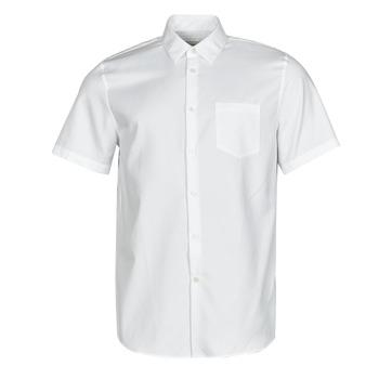 Oblačila Moški Srajce s kratkimi rokavi Lacoste FOLLA Bela