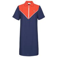 Oblačila Ženske Kratke obleke Lacoste FRITTI Rdeča / Modra
