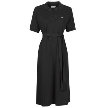 Oblačila Ženske Dolge obleke Lacoste KONNI Črna