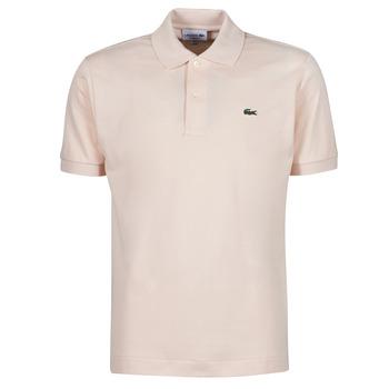 Oblačila Moški Polo majice kratki rokavi Lacoste POLO CLASSIQUE L.12.12 Rožnata