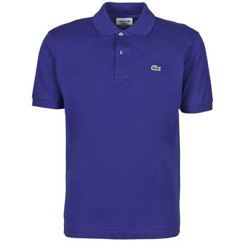 Oblačila Moški Polo majice kratki rokavi Lacoste POLO CLASSIQUE L.12.12 Modra / King