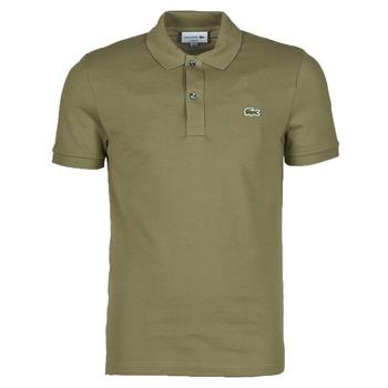 Oblačila Moški Polo majice kratki rokavi Lacoste POLO SLIM FIT PH4012 Kaki