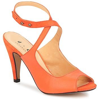 Čevlji  Ženske Sandali & Odprti čevlji D.Co Copenhagen MARISSA Oranžna