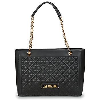Torbice Ženske Nakupovalne torbe Love Moschino JC4006PP1C Črna