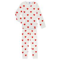 Oblačila Deklice Pižame & Spalne srajce Petit Bateau MISON Večbarvna